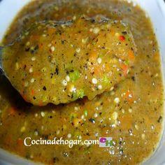 salsa de  tomate verde-salsa de  tomatillo