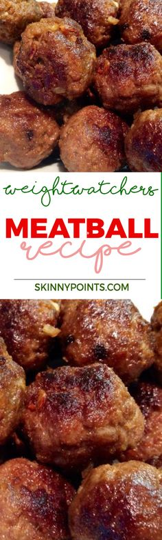 Meatball Recipe With only 1 Weight Watchers Smart Points