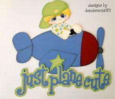 Just Plane Cute - Paper Designz