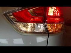 2014-2018 Nissan Rogue SUV - Testing Tail Lights After Changing Bulbs - Brake, Turn Signal, Reverse - YouTube