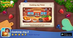 My favorite game ,💯💛💛💛💛 Google Play, Cooking Joy, Great Gatsby Themed Party, Restaurant, I Am Game, 3rd Birthday, Party Themes, Breakfast Recipes, Cereal