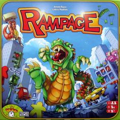 rampage board game - yes we need this one.