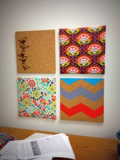 My DIY corkboard to liven up my drab office, who said engineers can't be creative ;)