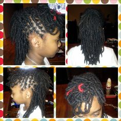 Maya Wanted A Mohawk This Is How You Rock It With Locs