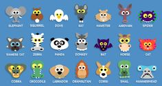 256 masks for kids - all you have to do is print them and cut them out