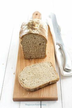 Chleb pszenno-żytni na zakwasie - Magazyn Kuchenny Bread Bun, Bread Recipes, Rolls, Food And Drink, Cooking, Kitchen, Thermomix, Backen, Breads
