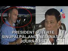 Pres. Duterte Slams international media , Supalpal nya ang kano