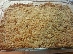 "Apple Oatmeal Crisp! """"  @allthecooks #recipe"
