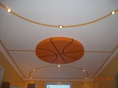 Basketball ceiling.