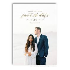 card save the date Wedding Announcement - Save The Date Card Photoshop Template - For Photographers - Photoshop Required - BELLA & HUDSON - 1692 Wedding Invitations With Pictures, Save The Date Invitations, Save The Date Cards, Party Invitations, Invites, Save The Date Designs, Save The Date Templates, Engagement Invitations, Wedding Invitation Design