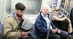 Reading Books Like 'How To Hold A Fart In' Will Score You Dirty Looks On the Subway