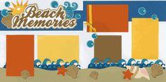 Beach Memories Page Kit