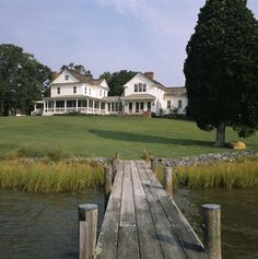 Talbot County waterfront - traditional - Exterior - Baltimore - Allbright Bullock Architects