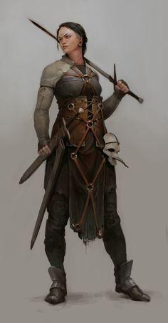 ArtStation - Rodrigo Avila's submission on Ancient Civilizations: Lost & Found - Film/VFX Character Art (rendered)