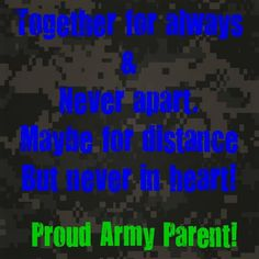 Proud Army Parent