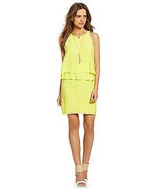 Gianni Bini Tina Popover Dress #Dillards