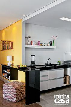 Revista MinhaCASA - Apartamento descolado e muito elegante