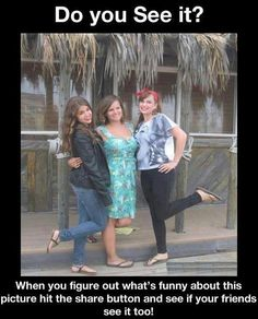 Can you see what is funny here? When you figure it out share it with your friends......