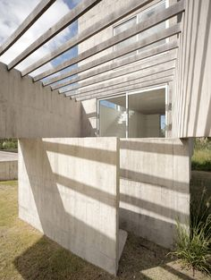 Set in a coastal forest just half a mile inland from the Atlantic Ocean, the board-marked concrete buildings that make up Sociedad de Mar were designed to provide a retreat from the popular resorts of the main coastline.