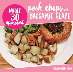 Whole30 Pork Chop wi