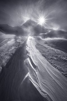 Blizzard Mountain by Marc Adamus
