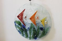 Handmade fused glass outdoor ornaments, all under $15. Get it at 50% OFF during the THANKSGIVING WEEKEND SALES!