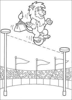 dora carnival coloring pages - photo#42