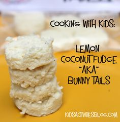 Easter Treats {Kids Can Make}: Bunny Tails
