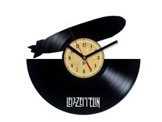 We made our clocks from old , used vinyl records. Thanks to our passion to music we give a new life for used and forgotten vinyl records, we make them functional, beautiful and great looking part of y Music Love, Rock Music, Used Vinyl Records, Rockn Roll, Quartz Clock Mechanism, Led Zeppelin, Pink Floyd, Classic Rock, Hard Rock