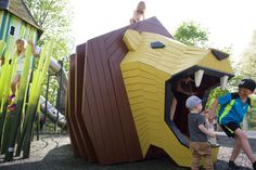 At MONSTRUM we design and produce unique playgrounds with a focus on artistic…