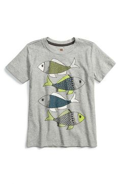 Tea+Collection+'Madhubani+Fish'+Graphic+Cotton+T-Shirt+(Toddler+Boys+&+Little+Boys)+available+at+#Nordstrom