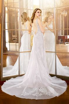 Moonlight Bridal Fall 2016 Collection. www.theweddingnotebook.com