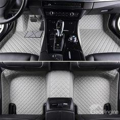 Car Floor Mats WHITE TAILORED SUZUKI GRAND VITARA 2006 ON