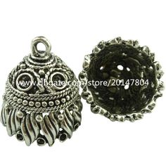 Wholesale cheap tassel cap online, jewelry findings type - Find best 19041 4x vintage silver hollow wind shell circle filigree pendant tassel end cap at discount prices from Chinese bead caps supplier - gongheng on DHgate.com.