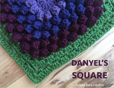 Danyel's Square Get a stunning PDF version of this pattern on Ravelry for only $1.00, or use these instructions on my blog today for free! Materials Yarn: Vanna's Choice, Lion Brand Yarn Tool…