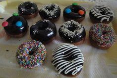 Mini Doughnuts - for quick bites Mini Doughnuts, Desserts, Food, Tailgate Desserts, Deserts, Essen, Postres, Meals, Dessert