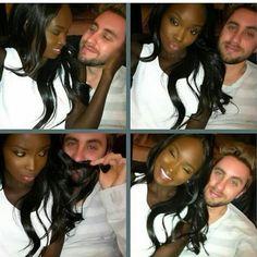 Keep calm and love interracial couples. Interracial Couples, Interracial Dating Sites, Interracial Wedding, Black Woman White Man, Black Love, Black Art, Mixed Couples, Couples In Love, Beautiful Couple