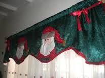 Resultado de imagem para cenefas de cortinas navideñas