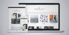 Download and review of LORELEI - Nordic Blog & Shop Theme, one of the best Themeforest Magazine & Blogs themes