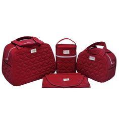 1972c2a2b3b Compre Kit bolsa maternidade luxo 4 peças no Elo7 por R  125