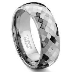 The ring is AMAZING! All of the facets sparkle in any light, and it has a solid weight. I am more than pleased with this ring, and I recommend Amazon and Titanium Kay to anyone I know who is looking for a mens ring.