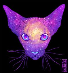 Quick: What's better than cute, multicolored cats? That's right, multicolored cats from outer space!
