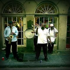 There's nothin' like it! jazz, french quarter, new orleans,louisiana