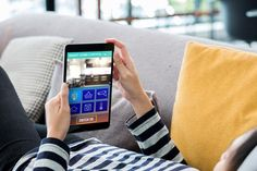 Hand on tablet using smart home system showing new iot security laws in u. Smart Home Technology, Digital Technology, Dog Treat Recipes, Healthy Dog Treats, Building Management System, Water Management, Smart Home Control, Smart Home Automation, Best Homemade Dog Food