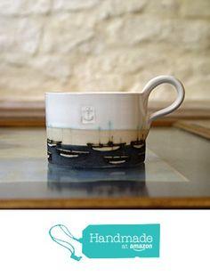 Hand Painted Mugs, Stoneware Mugs, Pottery Mugs, Boats, Tea Cups, Coffee Mugs, Ceramics, Dishes, Amazon