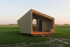 Ce refuge mobile pour randonneurs baptisé «The Trek-in cabin» a été imaginé et réalisé par six étudiants de l'Eindhoven University of Technology des Pays