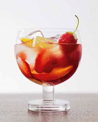 Sangria Flora // More Modern Summer Cocktails: http://www.foodandwine.com/slideshows/modern-summer-cocktails #foodandwine