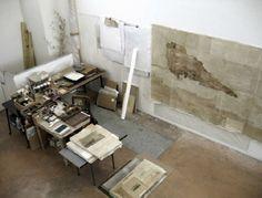 Emma Malig's studio