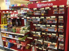 Target: more batteries and less junk food at checkout, please! (Target, Falls Church, VA, 3/15)