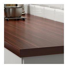 Ekbacken countertop dark oak effect dark oak effect 74x1 for Ikea ekbacken countertop